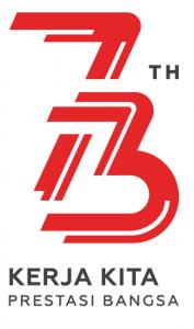 Logo Resmi HUT Kemerdekaan RI ke-73