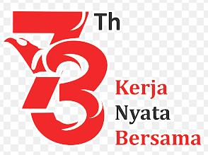 logo hut ri ke 73 tahun 2018